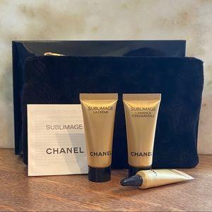 Chanel Sublimage Set With Bag
